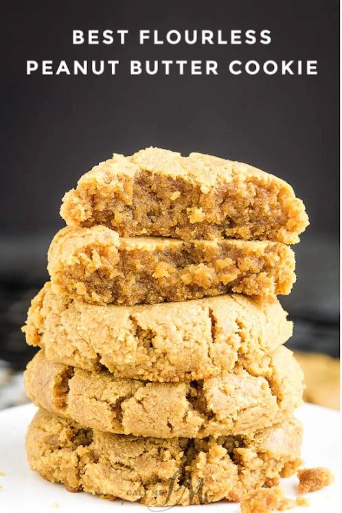 Best Flourless Peanut Butter Cookies