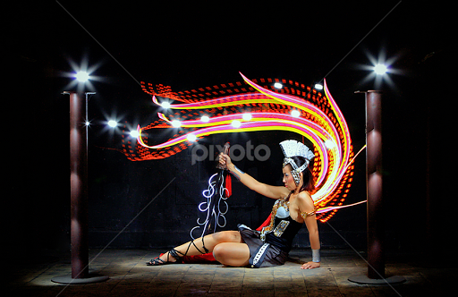 Light Painting By Kim Fung