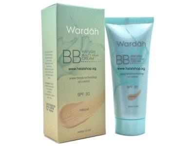 bb cream wardah menutrisi wajah meratakan warna kulit melembabkan menutup bekas jerawat menghaluskan