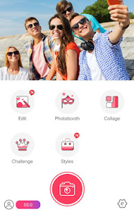 App Sweet Selfie - selfie cam, beauty cam, photo edit APK for Windows Phone