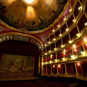 Theater at Guadalajara  by Cristobal Garciaferro Rubio - Buildings & Architecture Other Interior