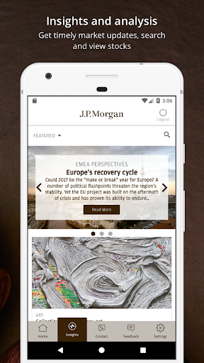 J.P. Morgan Private Bank  screenshots 4