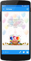 Screenshot of Greeting cards maker
