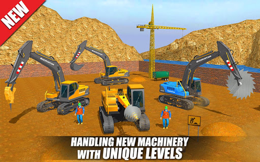 Heavy Excavator Crane: Construction City Truck 3D painmod.com screenshots 1