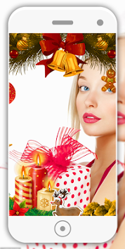 christmas photo editor by fast tools poster