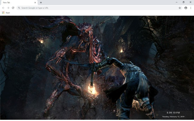Bloodborne 4 New Tab & Wallpapers Collection
