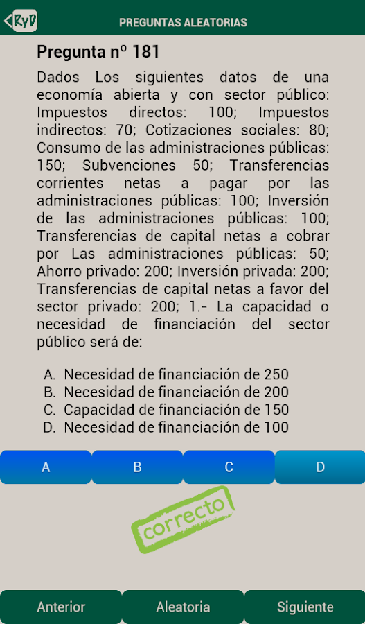 Renta y Dinero UNED- screenshot