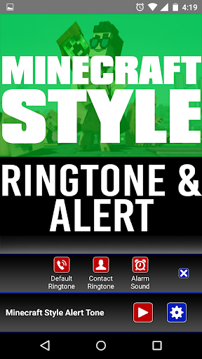 Ringtone Of Minecraft Style  screenshots 2