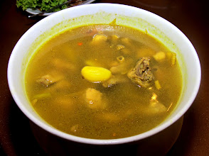 Photo: southern turmeric chicken soup at Jansom Thara