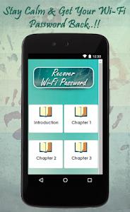 Recover WiFi Password Guide screenshot 1