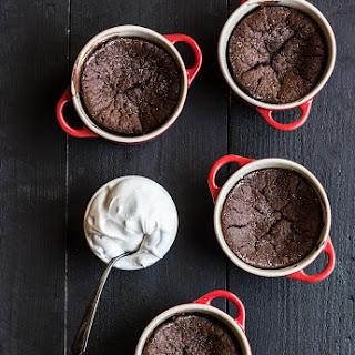 Fallen Chocolate Cake.