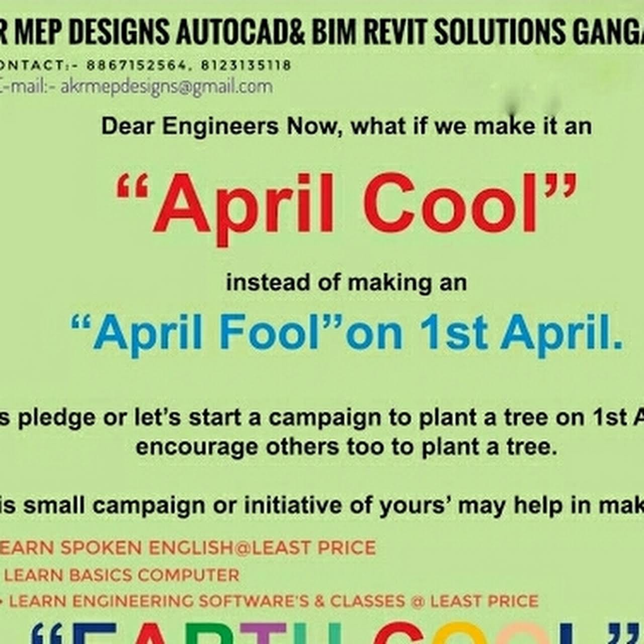 AKR MEP Designs AutoCad & BIM Revit Solutions, Institution - Email