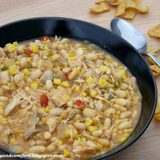 Quick and Easy Spicy White Bean Chicken Chili