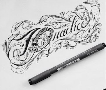 Beautiful writing design - náhled