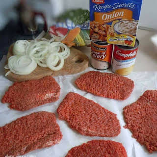 Crock Pot Cube Steak.