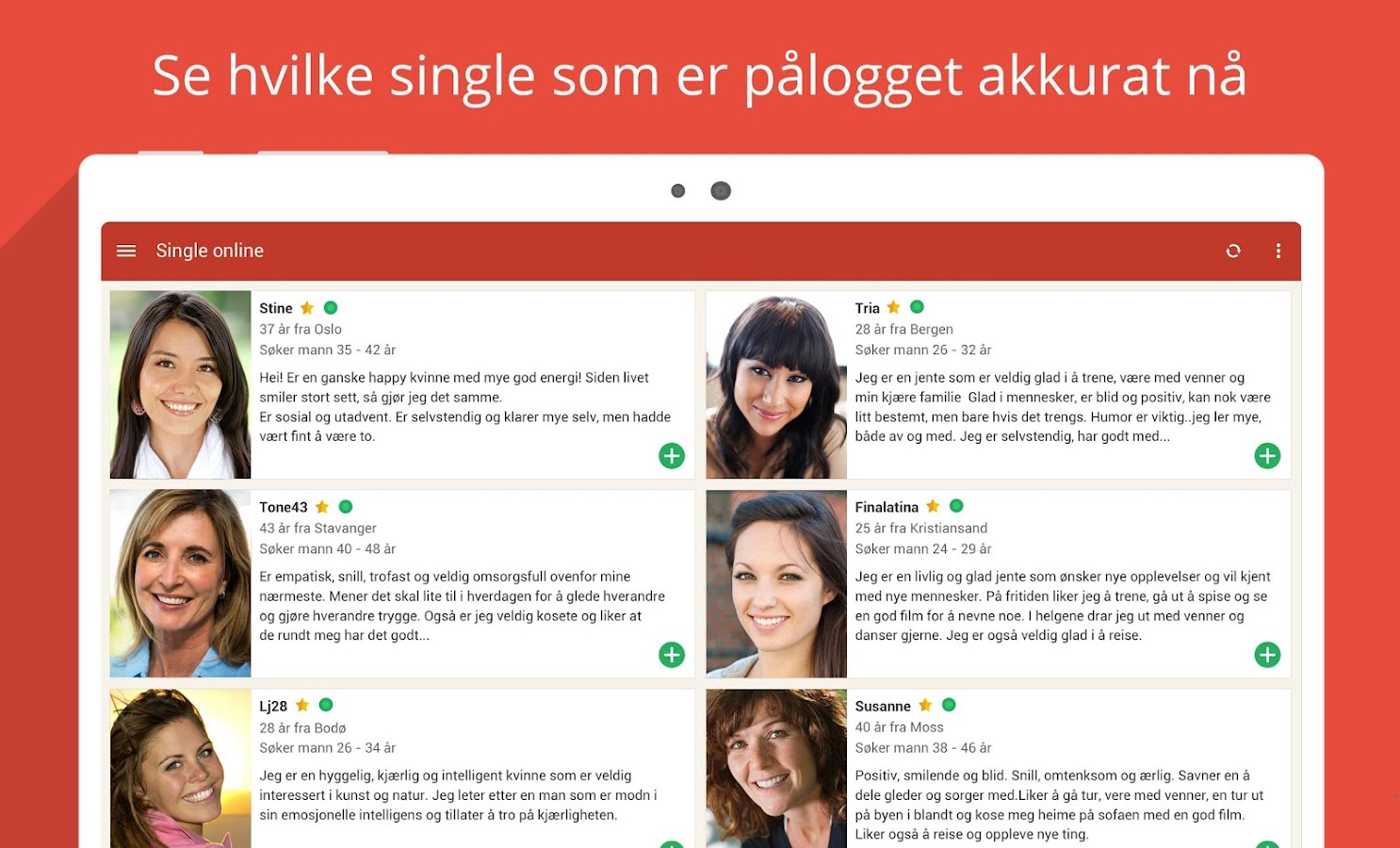 Møteplassen - seriøs dating- screenshot