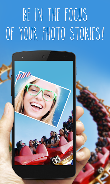 phoTWO - selfie collage camera Android App Screenshot