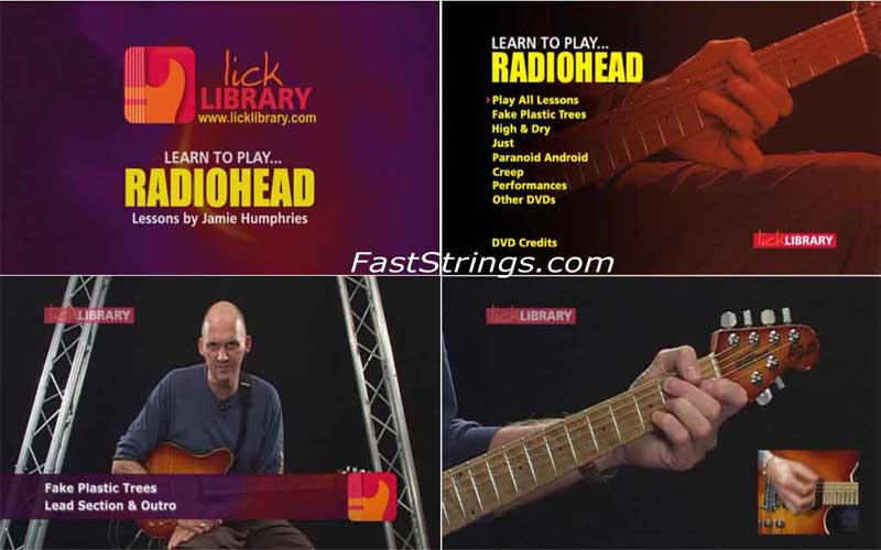 Learn To Play Radiohead