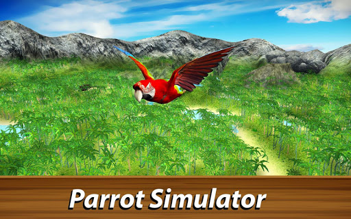 ud83dudc26 Wild Parrot Survival - jungle bird simulator! 1.2.1 screenshots 1