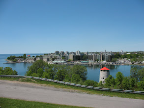 Photo: View of Kingston from Fort Henry