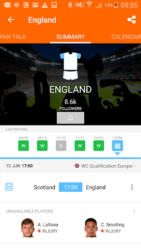 LiveSoccer live scores: FIFA World Cup 2018  3