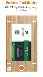 Business Card Scanner & Reader - Free Card Reader