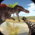 Hungry Spino: Coastal Dinosaur Hunt icon