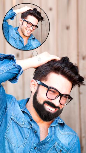 Man Hair Mustache Style  PRO : Boy Photo Editor 1.29 screenshots 1
