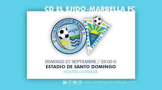 El CD El Ejido se pone a prueba ante el Marbella