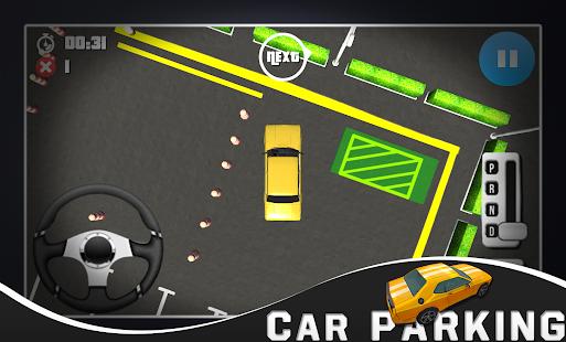 Otopark 3d oyun Ekran Görüntüsü