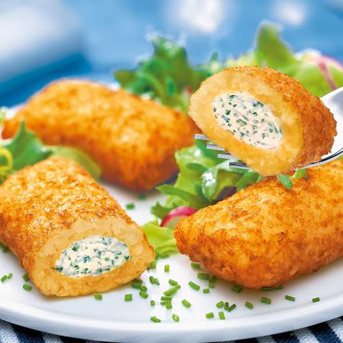 Abbildung Kartoffel-Frischkäse-Taschen