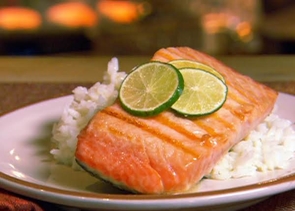Lime-ginger Grilled Salmon Recipe
