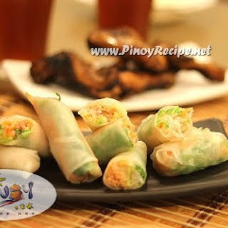 Fresh Thai Spring Rolls Recipes.