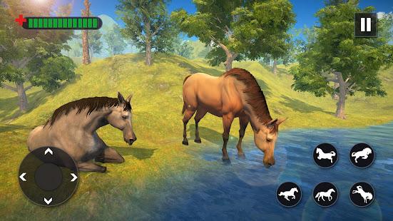 Wild Horse Family Simulator : Horse Games - náhled