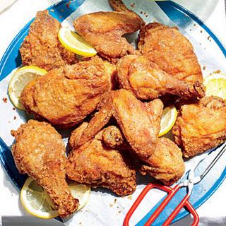 Sweet Tea-Brined Fried Chicken