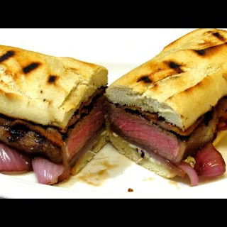 Gourmet Steak and Cheese Sandwich - Cheesesteak