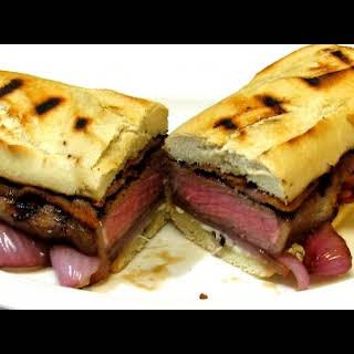 Gourmet Steak and Cheese Sandwich - Cheesesteak.