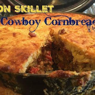Iron Skillet Cowboy Cornbread.