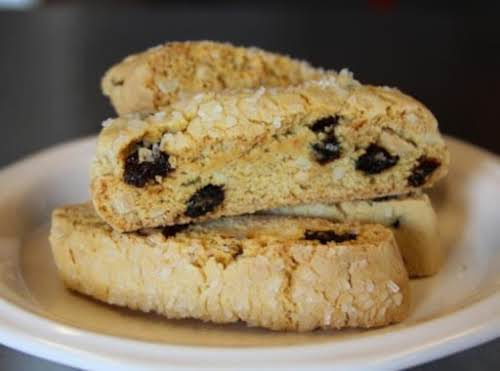 """Cherry Almond Biscotti """"I made these this morning, and followed your recipe..."""