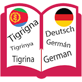 Tigrigna to German Dictionary For Easy Learning