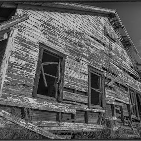 Siding by Ken Wagner - Buildings & Architecture Decaying & Abandoned ( old house, b&w, nikon, decaying, abandoned,  )