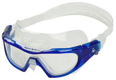 Aqua Sphere Vista Pro Goggles - Transparent Blue/White with Clear Lens alternate image 1