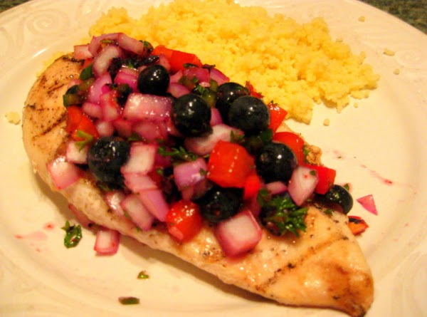 Red White And Blue Grilled Chicken Recipe