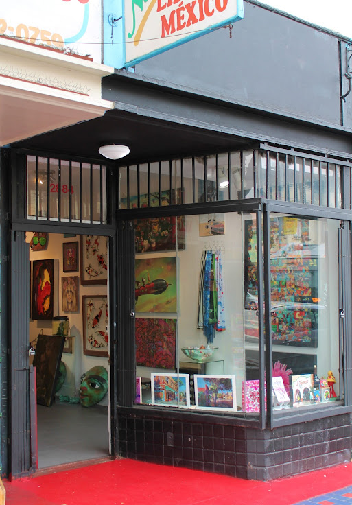 Storefront of Mission Art 415