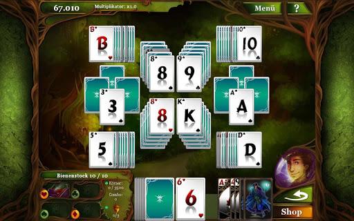 Magic Cards Solitaire german