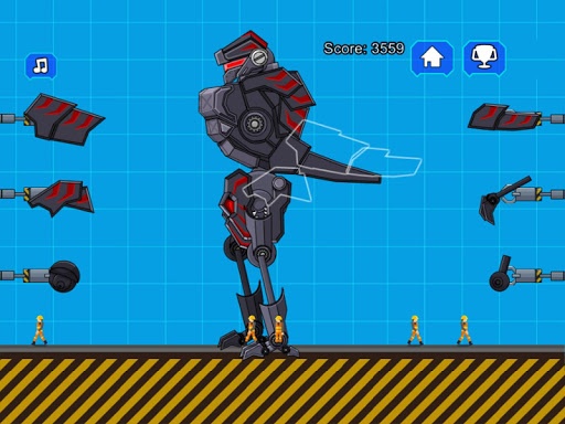 Robot Dinosaur Black T-Rex 2.5 screenshots 10