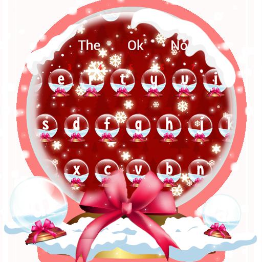 Merry Christmas Santa Keyboard Theme
