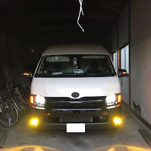 ハイエースバン TRH226K 特装車のカスタム事例画像 tomoさんの2019年04月17日14:04の投稿