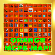 The Orange parkour map for MCPE