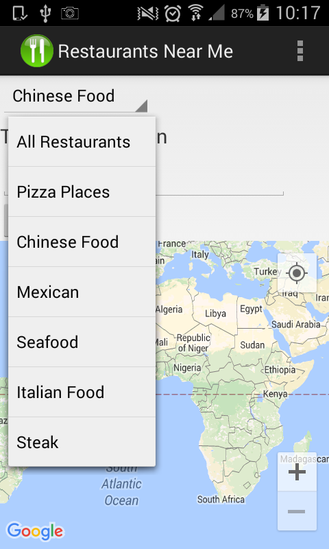 Restaurants Near Me- screenshot